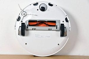 Robotic Vacuum with Laser Guidance